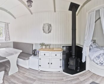double bed hut